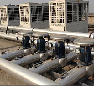山东交通学院空气能热水项目