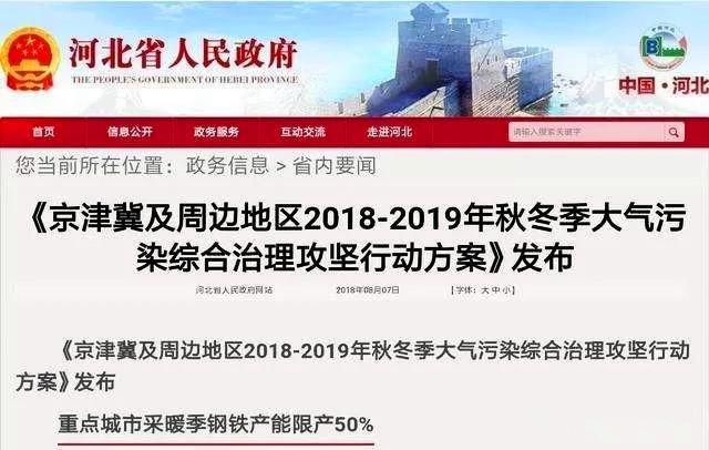 强势治霾!京津冀及周边采暖季停工令发布:停工限产长达6个月!